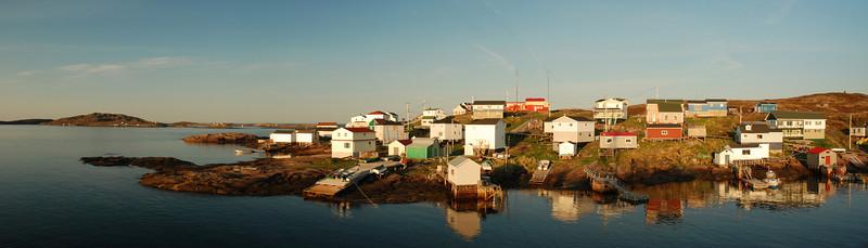 Lever de soleil sur Harrington Harbour