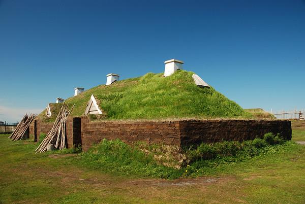 Maison de Viking - Anse-aux-Meadows