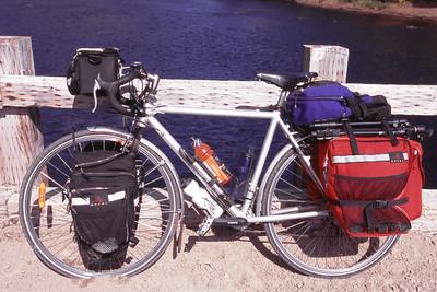 Mon vélo (Peugeot Alpin Pro) - Réserve faunique de Portneuf