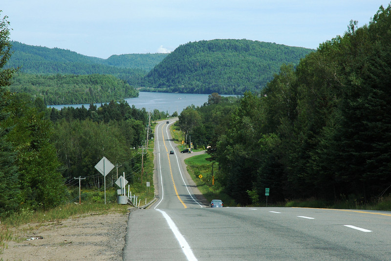 Rivière St-Maurice & route 155, Mauricie