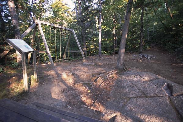 Halte et terrain de jeu - Parc national du Saguenay