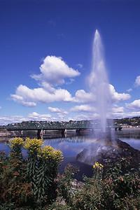 Pont pour piétons et cyclistes - Ville de Saguenay