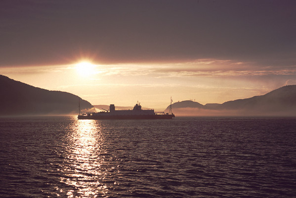 Traversier Baie-Sainte-Catherine - Tadoussac ferry, Saguenay