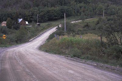 Chemin vers le cap Jaseux, Saguenay