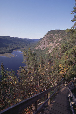 Sentier de la statue - Parc national du SaguenayHiking trail - Saguenay national park