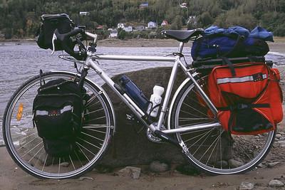 Mon vélo - Anse-de-Roche, Saguenay