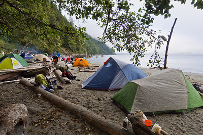 Trasher Cove campsite