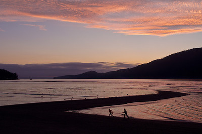 Kids playing - Port Renfrew