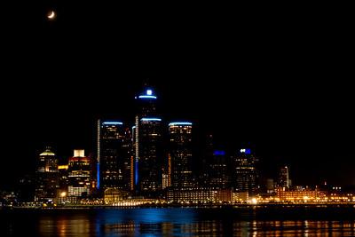 Détroit, la nuit
