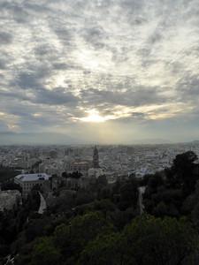 Sicht von der Alcazaba