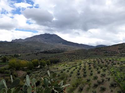 Sicht von El Burgo