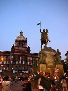 Wenzeldenkmal, Prag