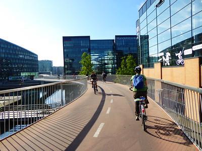 Veloautobahn-Brücke in Kopenhagen