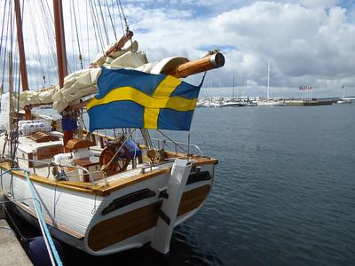 Segelboot in Helsingborg