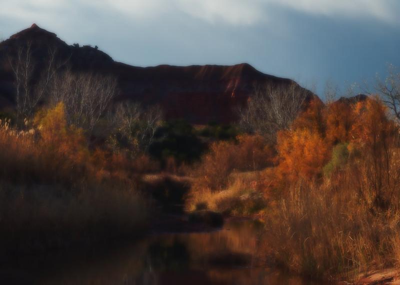 West Texas slide background: Palo Duro Canyon