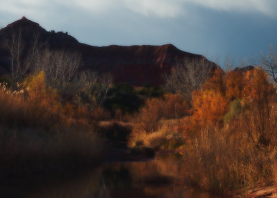 West Texas slide background: Palo Duro Canyon