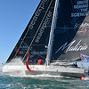 Boris Herrmann and Seaexplorer Yacht Club de Monaco on the 2020/2021 Vendée Globe start