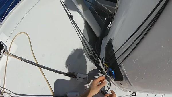 Day 14 - 14:40pm - Sail change procedure