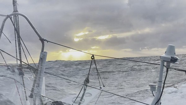 Day 32 - Sunset feeling from the Southern Ocean