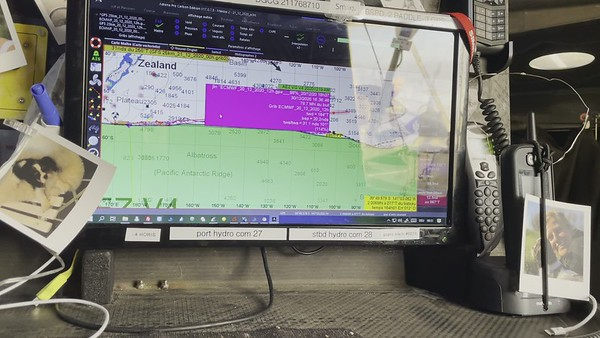 Day 43 - Weather routing till Cape Horn