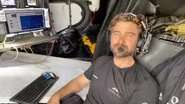 Day 64 – Interview with Vendée Globe – French