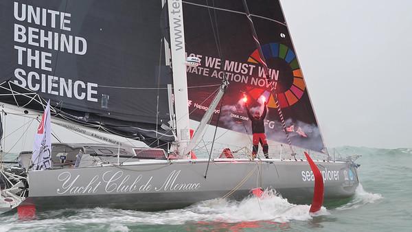 Vendée Globe finish for Boris Herrmann and Seaxplorer / Yacht Club de Monaco - Video