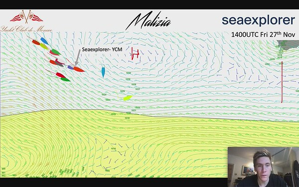 Day 19 - The First Southern Ocean Low Pressure