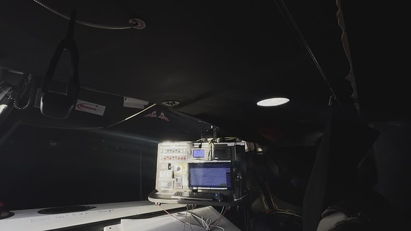 """Day 33 - Boris Herrmann: """"The view from my bunk"""""""