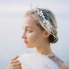 2 Brides Photography for The Wild Rose Acc AW16. Couture bridal hair accessories.