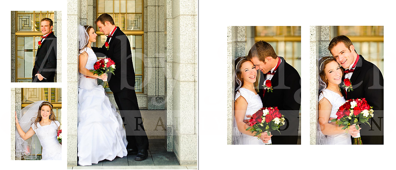 Leslie & Jeshua Wedding Album Spread29