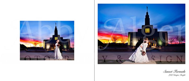 Leslie & Jeshua Wedding Album Spread24