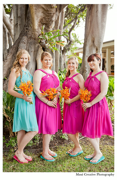 Marriot Wailea Beach Wedding