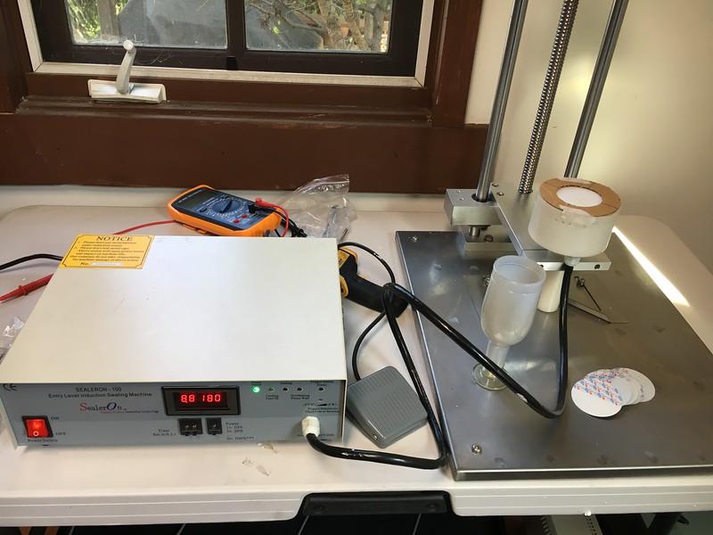 Test Set Up - to Simulate Capless
