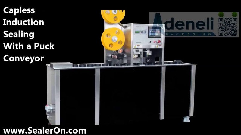 Video: Capless Induction  Sealing With a Puck Conveyor