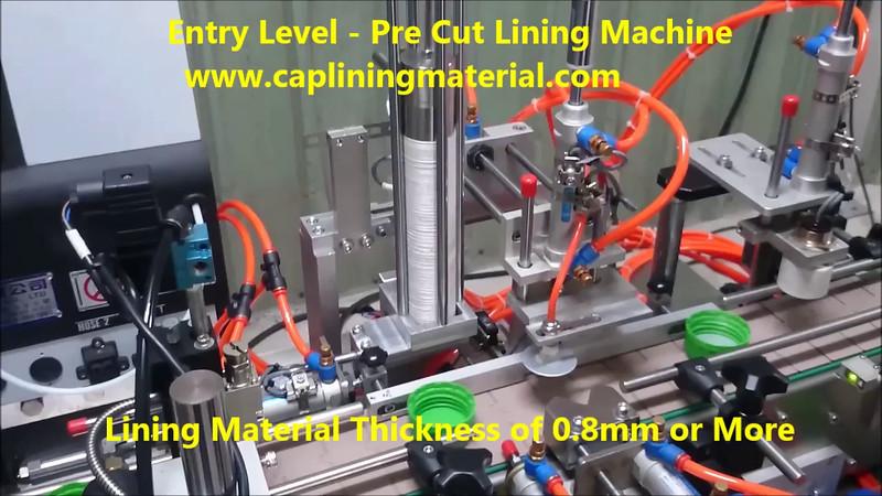 Entry Level - Pre Cut Lining Machine