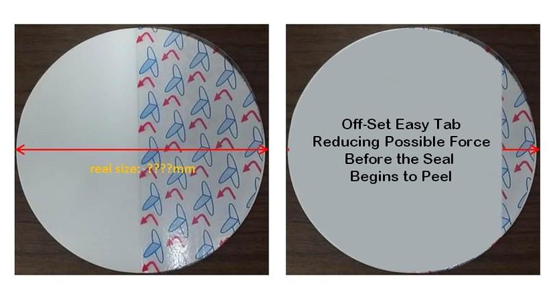 Offset Easy Tab  liner