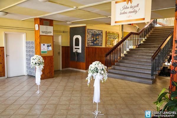 miskolci esküvői virág, dekor