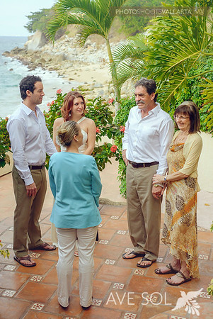 Luccie Aubert, Vallarta wedding minister