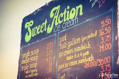 Sweet Action Ice Cream