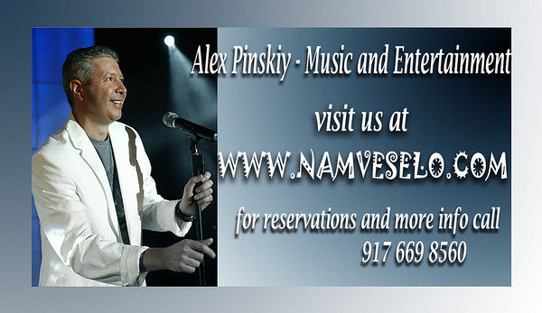 ALEX PINSKIY BAND - the best solution for your entertainment events  http://namveselo.com/