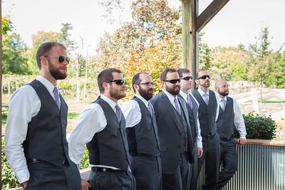 Christy & Bryan's wedding day at Equus Run Vineyards, Lexington, KY 9.27.14.