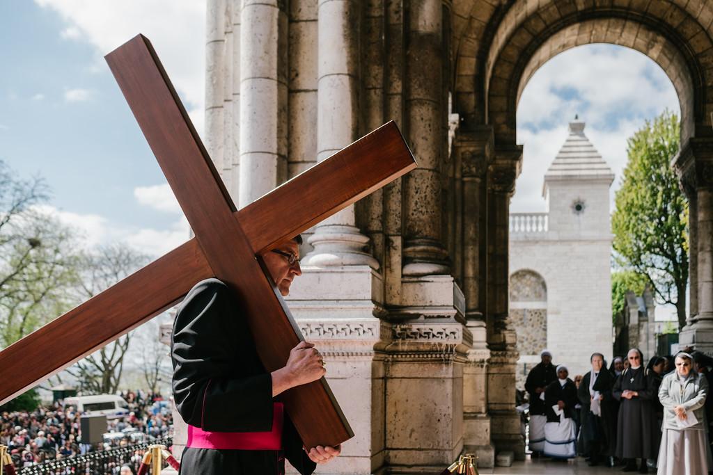 14-04-Chemin de Croix du sacré Coeur-Paris