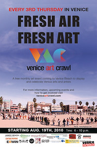 . For more information, visit. http://www.veniceartcrawl.com or come visit us next month.