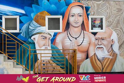 The Get Around - A Joint Mar Vista Art Walk + Venice Art Crawl.  Photo by VenicePaparazzi.com