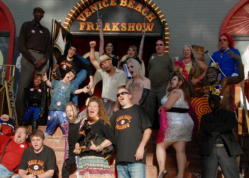 Last day of the Freakshow