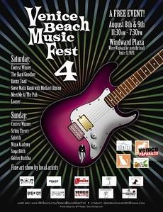 VENICE MUSIC FEST   www myspace com:venicebeachmusicfest