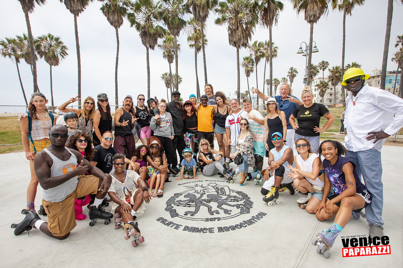 July 14,  2019 Venice Beach Skate Dance Plaza