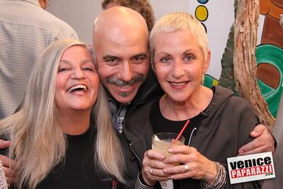 Venice Carnevale's Miriam, Stuart Garber and Barbara Bauman