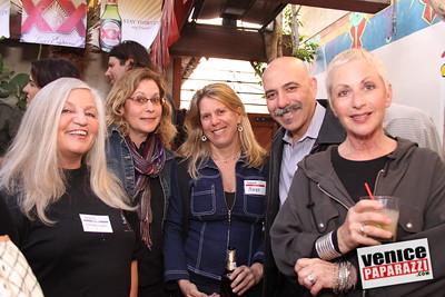 Miriam Moore, Helen Garber,Margie, Stuart Garber and Barbara Bauman
