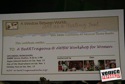 3  Raffle Prizes www beartrageous@awbw org